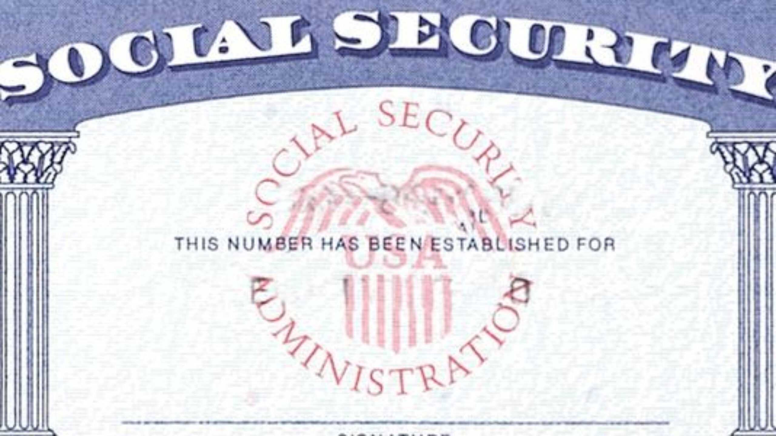 Blank Social Security Card Template Download - Great For Social Security Card Template Download