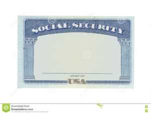 Blank Social Security Card Template Download – Great with regard to Fake Social Security Card Template Download