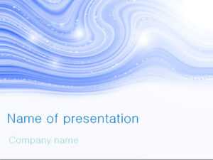Blue Winter Powerpoint Template For Impressive Presentation for Microsoft Office Powerpoint Background Templates