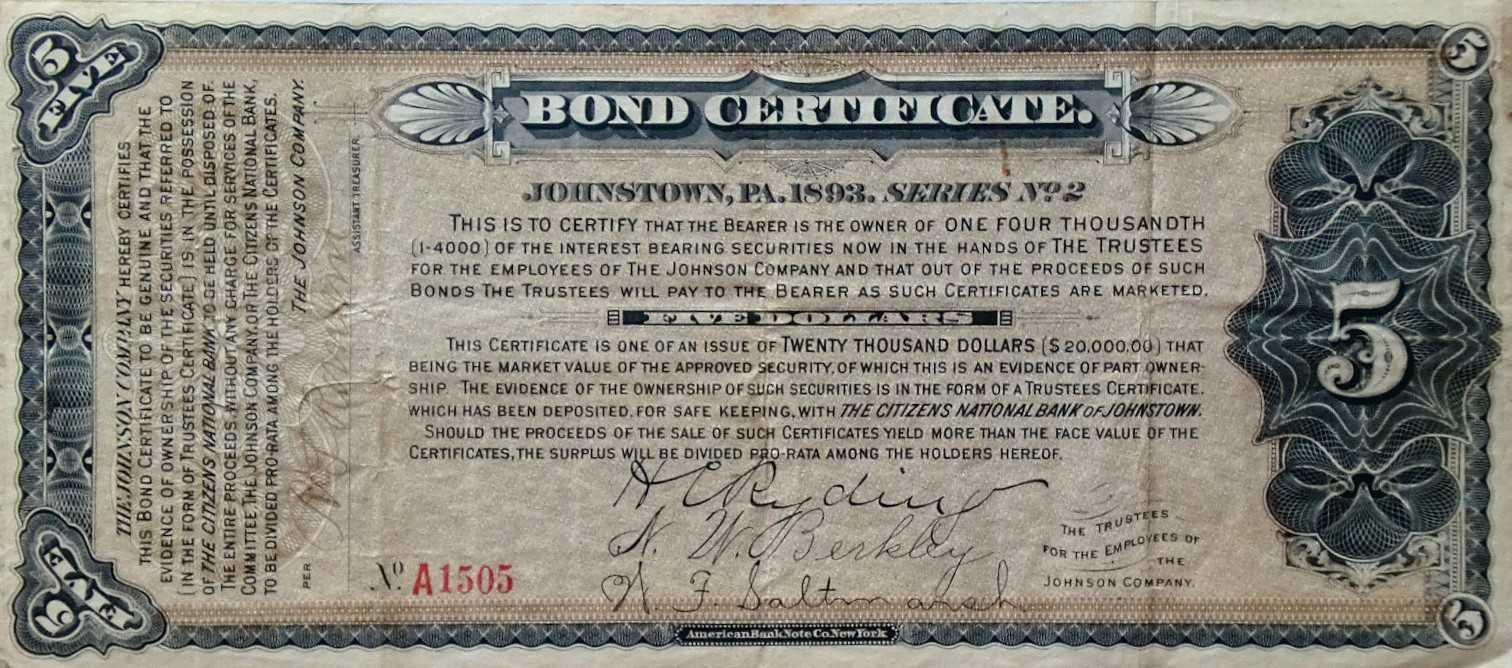 Bond Certificate Template - Carlynstudio Throughout Corporate Bond Certificate Template