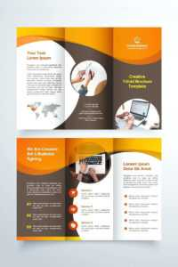 Brochur Template – Vmarques regarding Brochure Templates For Word 2007