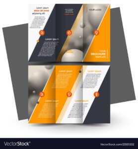 Brochure Design Brochure Template Creative regarding Free Illustrator Brochure Templates Download