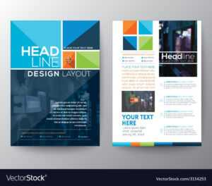 Brochure Flyer Design Layout Template In A4 Size with regard to Online Free Brochure Design Templates