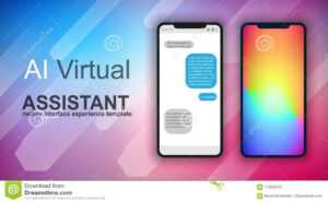 Brochure Layout Mobile Ai Artificial Intelligent Chat Bot for Ai Brochure Templates Free Download