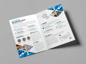 Brochure Printing Gurgaon|Brochure Template/design Services inside One Sided Brochure Template