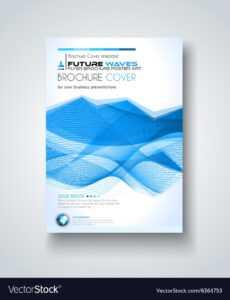 Brochure Template Flyer Design And Depliant Cover regarding Brochure Template Illustrator Free Download