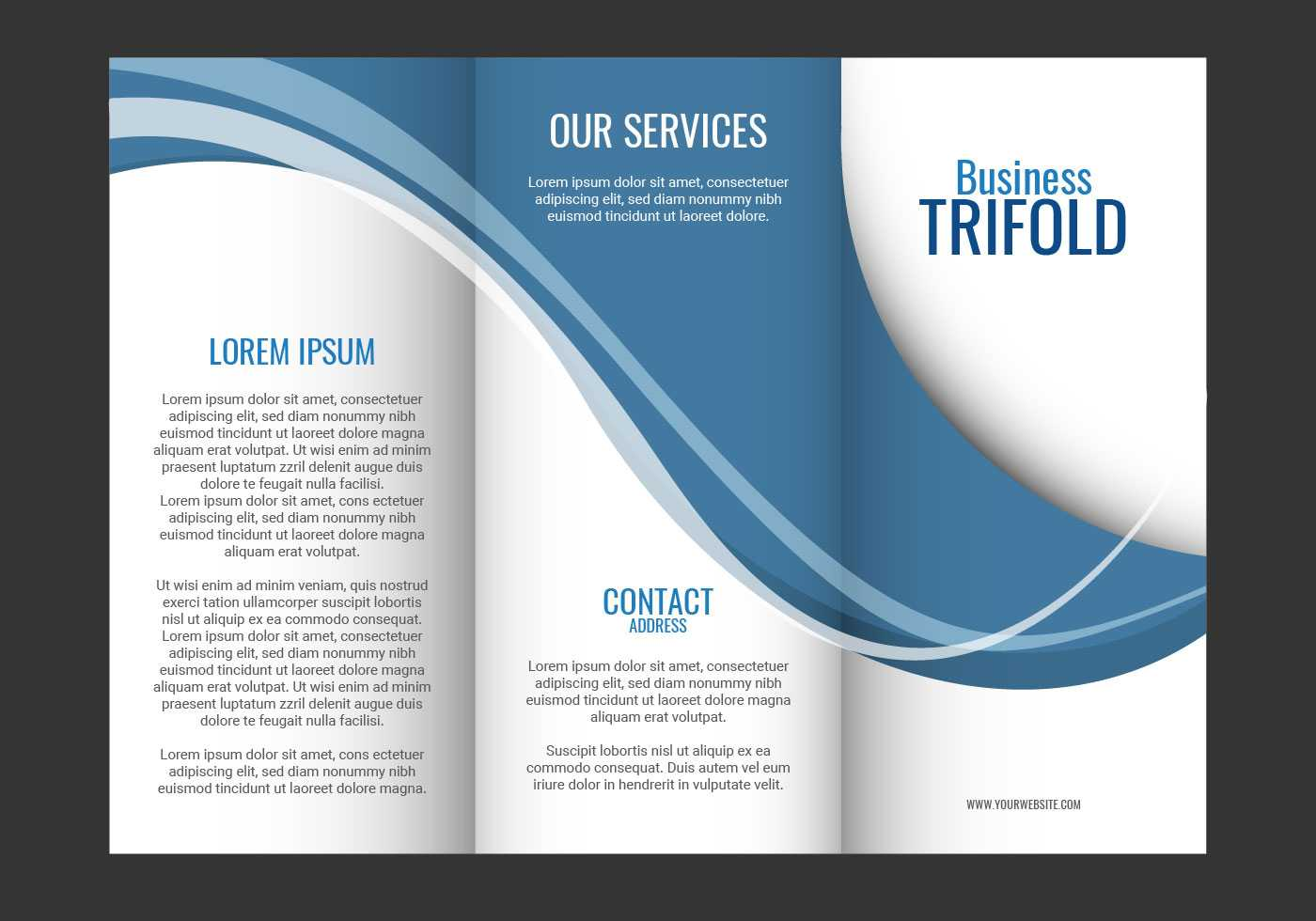 Brochure Template Free Vector Art - (80,863 Free Downloads) In Fancy Brochure Templates