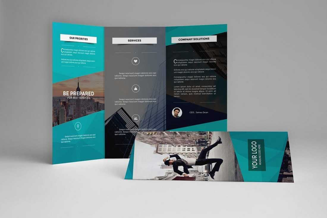 Brochure Templates | Design Shack With Regard To Good Brochure Templates