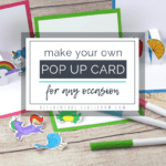 Build Your Own 3D Card With Free Pop Up Card Templates - The inside Pop Up Card Templates Free Printable