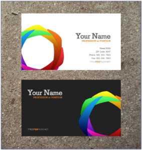 Business Card Design Cdr Format Free Download within Blank Business Card Template Download