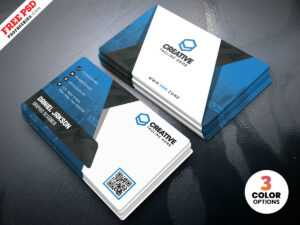 Business Card Design Psd Templatespsd Freebies On Dribbble for Name Card Photoshop Template