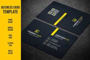 Business Card Maker – Free Business Card Templates Для for Free Bussiness Card Template