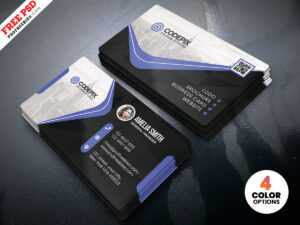 Business Card Psd Templatepsd Freebies On Dribbble throughout Visiting Card Templates For Photoshop