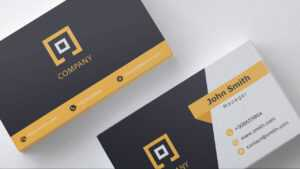 Business Card Template | Free Download | 1 | in Business Card Template Powerpoint Free