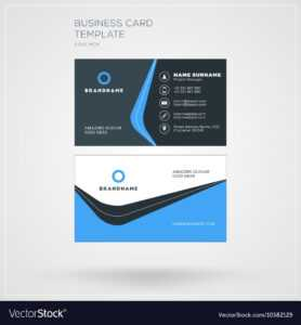 Business Card Template Personal Visiting Card With for Free Personal Business Card Templates