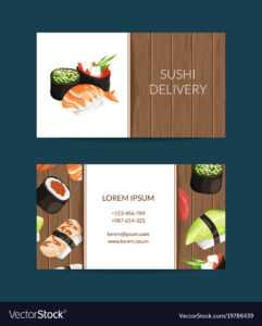 Business Card Templates In Cartoon Style inside Food Business Cards Templates Free