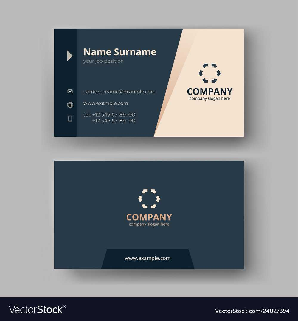 Business Card Templates Inside Company Business Cards Templates