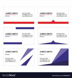 Business Card Templates Set – Printable with Free Editable Printable Business Card Templates