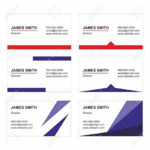 Business Card Templates Set Vector – Printable with Buisness Card Templates