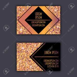 Business Card Templates With Glitter Shining Background. intended for Christian Business Cards Templates Free