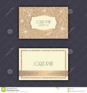 Business Card Templates With Glitter Shining Background within Celebrate It Templates Place Cards