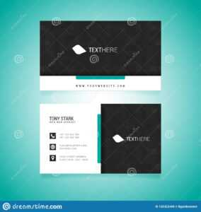 Business Card Vector Template Stock Vector – Illustration Of for Adobe Illustrator Card Template