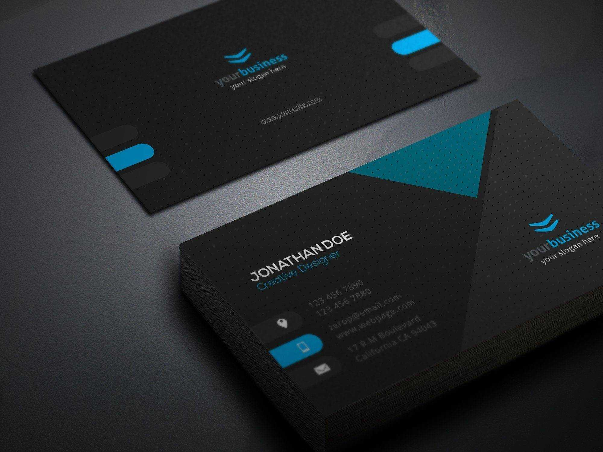 Business Cards Designs Template - Egeberg - Egeberg Intended For Hvac Business Card Template