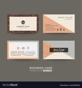 Business Cards For Coffee Shop Or Company with Coffee Business Card Template Free