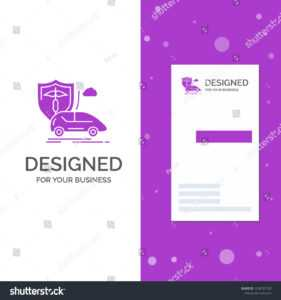 Business Logo Car Hand Insurance Transport Stock Vector intended for Auto Insurance Id Card Template