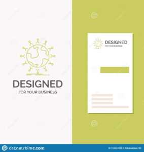 Business Logo For Global, Student, Network, Globe, Kids pertaining to Student Business Card Template