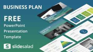 Business Plan Powerpoint Template Free | Template Business pertaining to Business Card Template Powerpoint Free