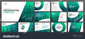 Business Presentation Templates Set Use Keynote Stock Vector inside Keynote Brochure Template