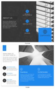 Business Tri Fold Brochure regarding Technical Brochure Template