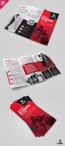 Business Tri-Fold Brochure Template Design Psd – Uxfree with Brochure 3 Fold Template Psd