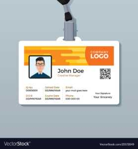 C260Bf1 Employee Id Template | Wiring Library intended for Employee Card Template Word