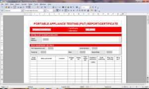 C5D Pat Test Template | Wiring Resources inside Electrical Installation Test Certificate Template