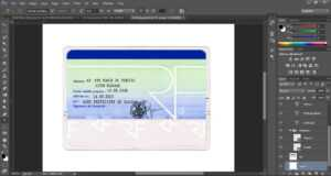 C7849 Id Card Template Photoshop | Wiring Library in French Id Card Template