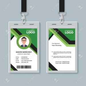 C86971 Id Card Design Templates | Wiring Library throughout Company Id Card Design Template