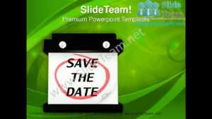 Calendar Save The Date Powerpoint Templates Ppt Themes 0912 intended for Save The Date Powerpoint Template