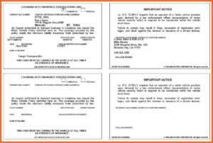 Car Insurance Card – Insurance regarding Fake Car Insurance Card Template