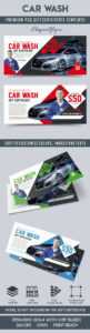 Car Wash – Premium Gift Certificate Psd Template with regard to Automotive Gift Certificate Template