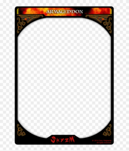 Card Template Png – Trading Card, Transparent Png – 774X1032 pertaining to Dominion Card Template