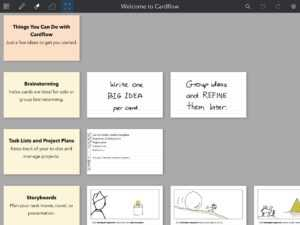 Cardflow: Index Cards On Your Ipad regarding Index Card Template For Pages