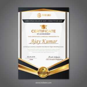 Certificate Best Performance Award Design Competition Free in Best Performance Certificate Template
