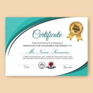 Certificate Border Free Vector Art – (14,563 Free Downloads) with Certificate Border Design Templates