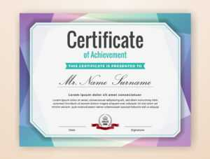 Certificate Borders Free Vector Art – (14,551 Free Downloads) with High Resolution Certificate Template