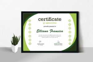 Certificate / Diploma Template with Officer Promotion Certificate Template