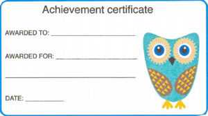 Certificate For Kid Template – Certificate Templates intended for Free Printable Certificate Templates For Kids
