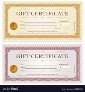 Certificate Gift Coupon Template with regard to Company Gift Certificate Template