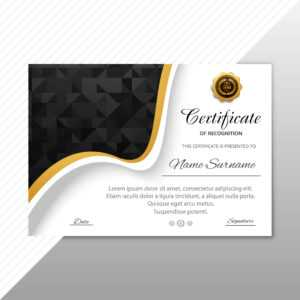 Certificate Of Appreciation Free Vector Art – (764 Free pertaining to Beautiful Certificate Templates
